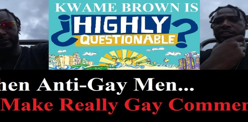 Kwame Goes On A Highly-Homosexual Rant About Tommy Sotomayor While Being Alone On His Tractor! (Live Broadcast)
