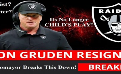 NFL Coach Jon Gruden Resigns After Racist, Homophobic & Sexist Emails Surface! Lets Discuss! (Live Broadcast)